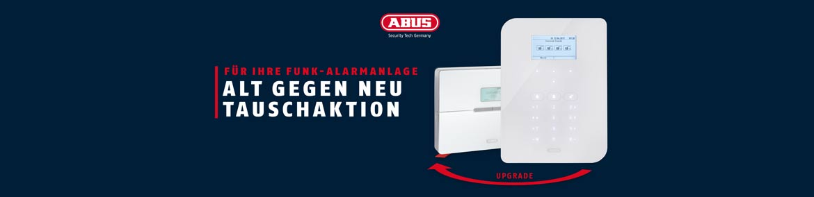 Upgrade-Aktion ABUS Alarmanlagen